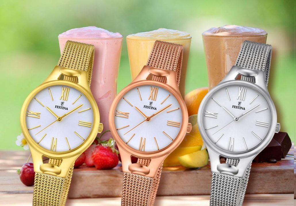 2be730689 Festina Mademoiselle – dámske hodinky dokonale podčiarkujúce ženskosť a  eleganciu