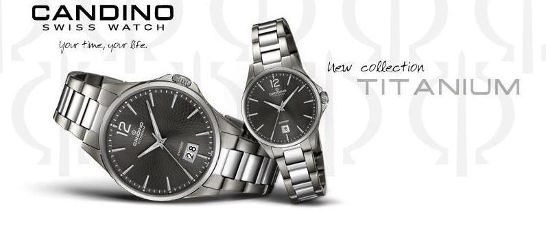 Candino Titanium – kolekcia titánových hodiniek pre tých náročnejších