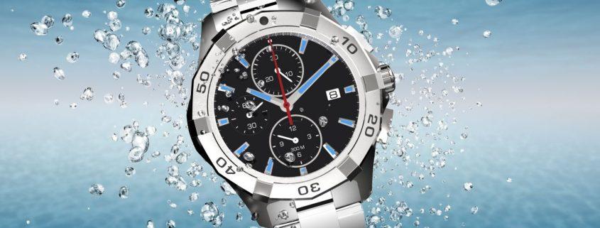 vodeodolnost hodiniek