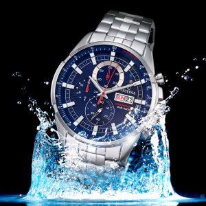 vodotesnost hodiniek