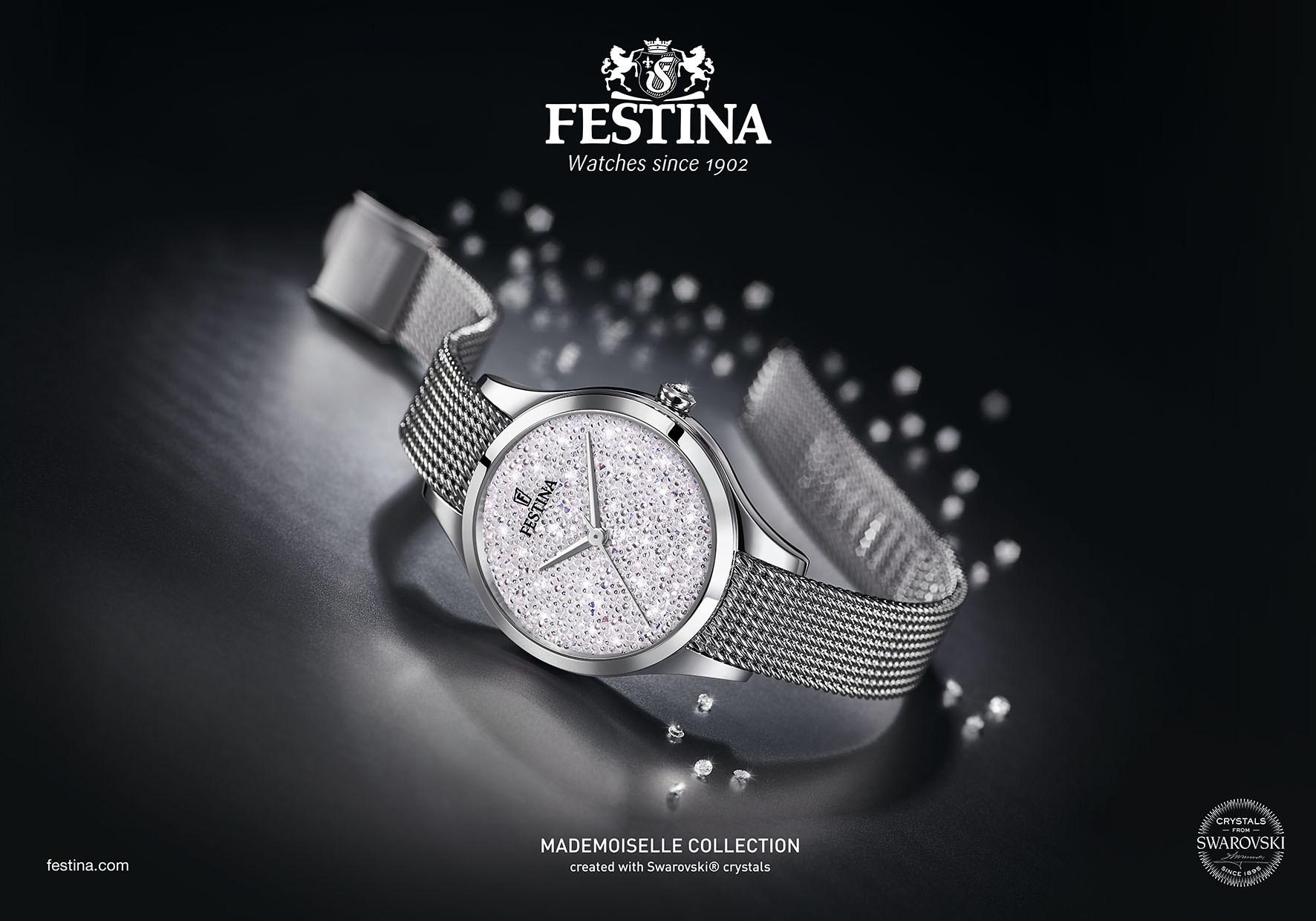 Festina Mademoiselle Swarovski®: Keď sú hodinky skutočným šperkom