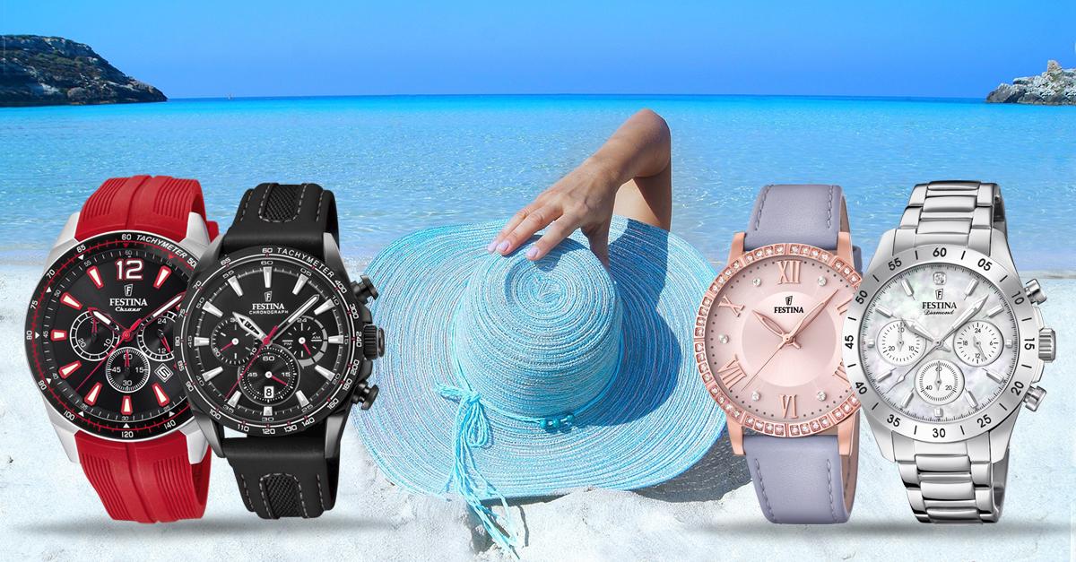 Objavte naše letné novinky! Pánske a dámske hodinky a šperky za TOP ceny!