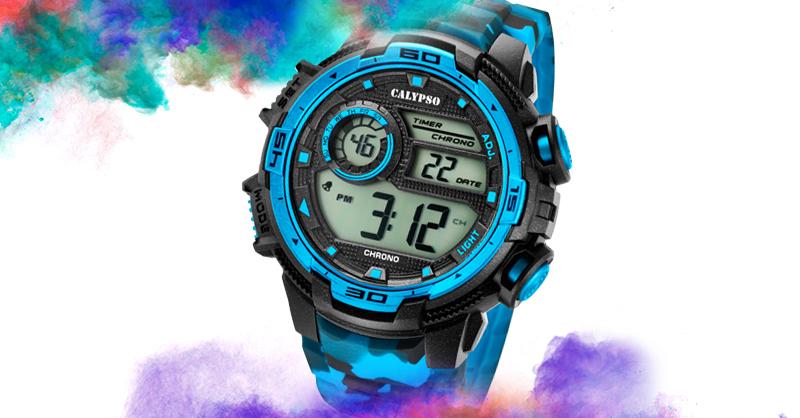 Vodotesné digitálne hodinky nabité funkciami! Už od 29€!